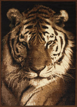 United Weavers Legends Tiger Portrait Multi Area Rug 5'3'' x 7'2'' - $69.00