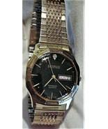 BENRUS Diamond Quartz Day/Date Men's Watch Japan Mvmt Working Parts or Repair - $45.00