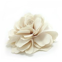 Meilliwish Camellias Flower Hair Clip and Brooch Pin Cream A74 - $15.62