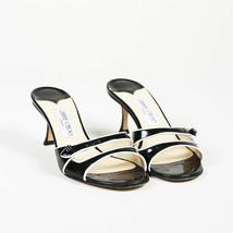 Jimmy Choo Patent Leather Slide Sandals SZ 38.5 - $160.00
