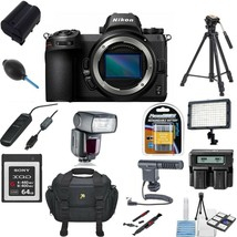 Nikon Z 6 Mirrorless Digital Camera with 24-70mm Lens With Pro Accessory... - $2,290.86