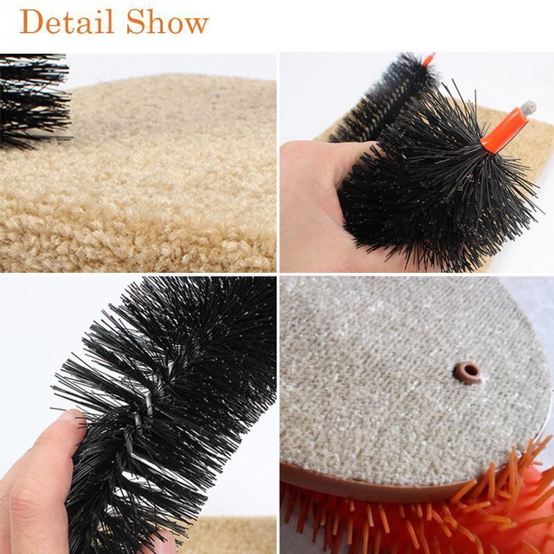 Cat Brush Plastic Scratching Round Self Groomer Cats Kittens Pet Arch Rub Toy