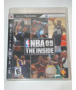 Playstation 3 - NBA 09 THE INSIDE (Complete with Manual) - $25.00
