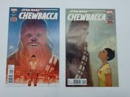 Star Wars Chewbacca 1 & 2 First Print Vol 2 December 2015 Marvel Comic Book - $10.88