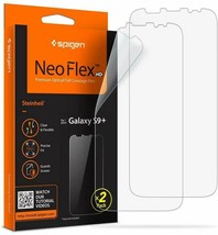 Spigen Samsung Galaxy S9 Plus Screen Protector Neo Flex HD - 2 Pack - $16.48