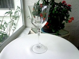 Towle Crystal TUDOR Pattern Tall Water Goblet - $10.00