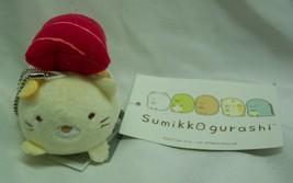 "Sumikko Gurashi Neko Maguro Salmon Sushi Cat 2"" Plush Stuffed Animal Keychain - $14.85"