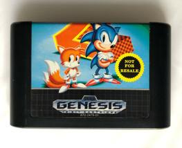 ☆ Sonic The Hedgehog 2 II (Sega Genesis 1992) AUTHENTIC Game Cart Tested... - $5.42