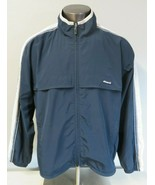 Mens Ellesse Windbreaker Light Jacket Retro Style Size XL Polyester Blue... - $64.34