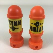 Teenage Mutant Ninja Turtles Accessories Stink O Bombs 2pc Lot Vintage 1... - $13.32