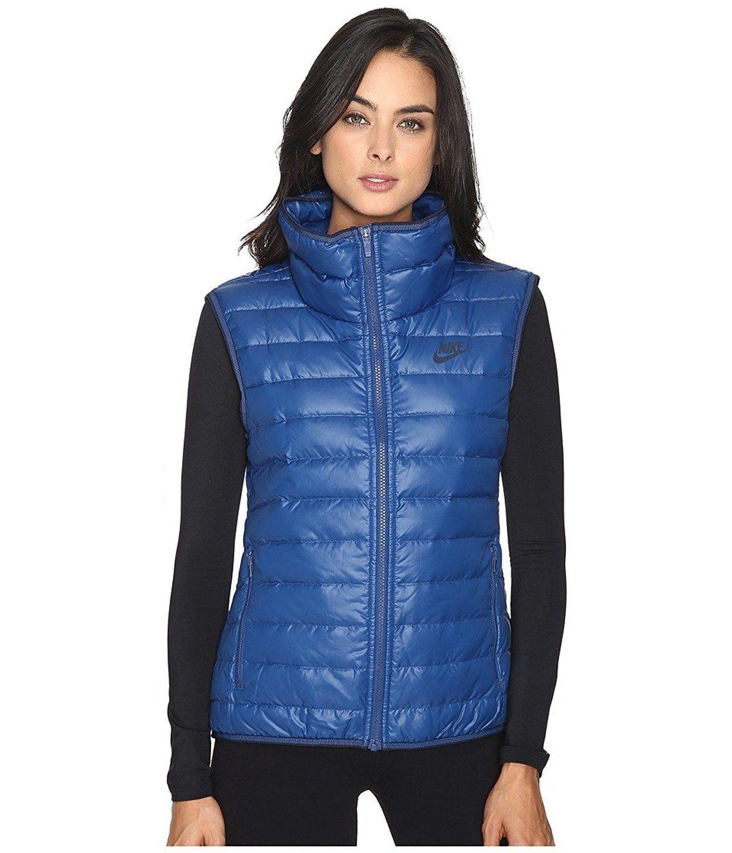 5b0a3e244007 Nike Womens Down Vest NWT Size XS Blue Black and 31 similar items. S l1600