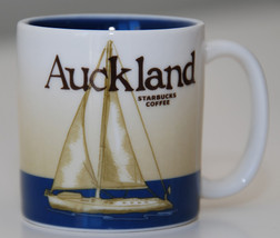 Starbucks Auckland New Zealand Icon mug 16 Oz 2016 Rare - $117.81