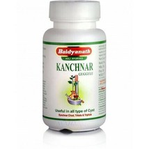 Kanchnar Guggulu Baidyanath 80 Tablets | Useful In All Types Of Cyst - $7.60