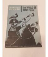 Showbill Program The Would Be Gentleman Budd Schulberg 1960 - $4.94