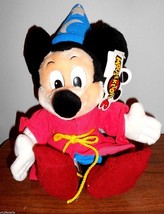 Walt Disney World Mouseketoys Sorcerer Mickey Mouse 14 Inches NWT - $8.54