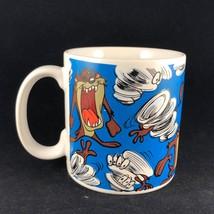 Illustrated Taz The Tasmanian Devil Looney Tunes Coffee Mug By Applause - $14.25