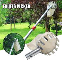 Newly Fruit Picker Head Basket Garden Fruit Picking Tools Fruits Catcher  - £18.81 GBP