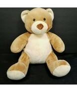 Build a Bear Velvet Hugs Brown Tan Soft Plush Teddy Asthma Allergy Frien... - $24.74