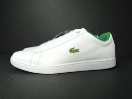 New Lacoste Hydez 119 1 P Men's Sneaker Size 9 White Green Casual Shoe L... - $53.41
