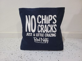 "Navy RNV Shopping Tote Bag ""No Chips/Cracks"""