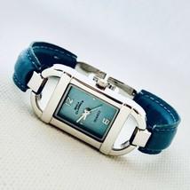 Boca Classics by Accutime Teal Dial Vegan Bracelet Women's 18mm Watch 8642 - $18.28