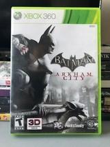 Batman Arkham City (Xbox 360, 2011), Tested, FREE SHIPPING, USA Seller - $7.50
