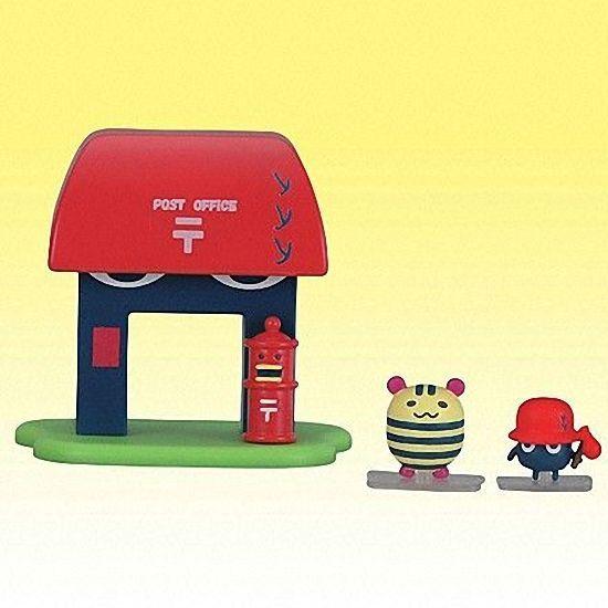 Bandai Tamagotchi Post Office House Mini Figure Set Simasimatchi Nazotchi