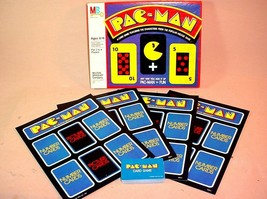 Vintage 1982 Milton Bradley Pac Man Card Game Based On The Classic Arcade Game - $26.72