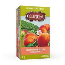 Celestial Seasonings Natural Herb Tea, Country Peach Passion, 1.4 oz, 20... - $32.89