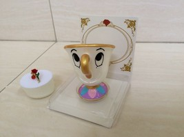 Disney Beauty and the Beast Chip Cup and Rose Ring. Pretty Theme. Rare NEW - $59.99