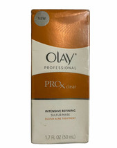 Olay Professional Pro-X Clear Intensive Refining Sulfur Mask Rare Exp 2013 - $39.59