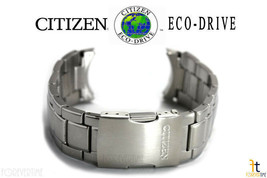 Citizen Eco-Drive AT8010-58B Original 23mm Stainless Steel Watch Band AT... - $174.11