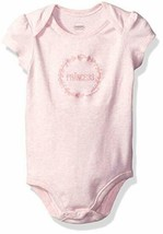 GYMBOREE NWT Newborn Essentials Cozy Owl Princess Embroidered Bodysuit 6... - $9.89