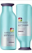 Pureology Strength Cure Shampoo Conditioner 8.5 oz Duo - $35.52