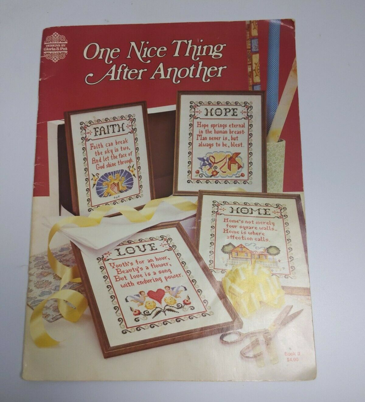 1980 ONE NICE THING AFTER ANOTHER ~  CROSS STITCH Book II - $11.87