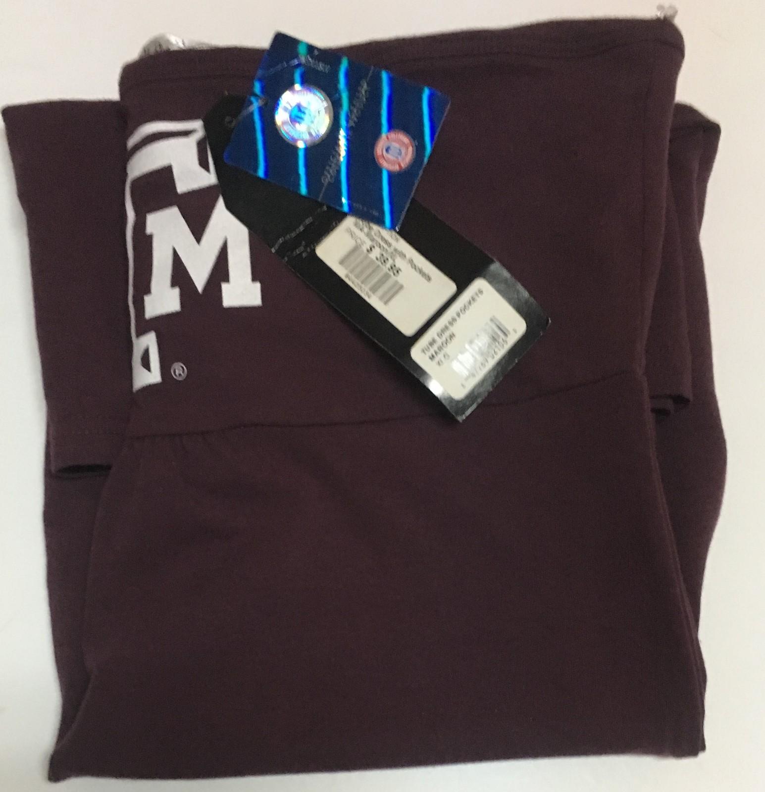 Texas A&M University Halter Tube Dress w/Pockets ChicaD SZ XL Maroon
