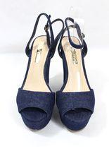 Sandals Wedge Denim Shoes Toe Shoes Platform Anneka Women's 24 Open Floral ZgxCz