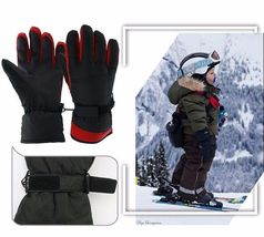 Winter Warm Ski Glove -30 Degree Windproof Waterproof Unisex Security Protection image 4