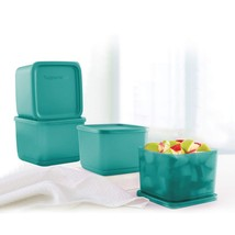 Tupperware 11156461 Plastic Container With Lid - 1000ml, 4 Pc, Green - $66.95