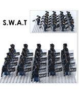 21pcs/set Modern Warfare SWAT Police Riot Control Officer Custom Minifig... - $31.99