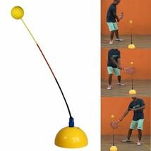Portable Stereotype Swing Ball Machine Practice Trainer Tennis Training ... - $38.14