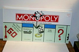 Vintage 1985 Monopoly Board Game Parker Brothers Classic Original Box all pieces - $76.44