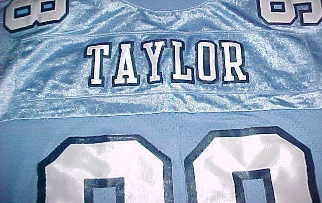Lawrence Taylor #58 North Carolina Tar Heels NCAA ACC Blue Throwbacks Jersey XL image 8