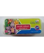 Acrylic Colors 10 Color Set Pidilite Fevicryl Acrylic Colors 15MLx10Colour - $16.00