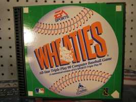 Wheaties All-Star Triple Play 99 Baseball PC CD Cereal Premium Game w/ A... - $12.25