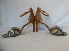 Jessica Simpson 7.5 M Maselli Multi Color Open Toe Heels New Womens Shoes NWOB image 4