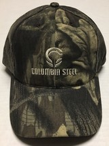 Columbia Steel Hat Portland Oregon Baseball Cap Camo Hunting OR Iron Hun... - $16.82