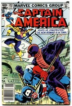 Captain America #282-vf+-high grade-FIRST NOMAD-MARVEL - $31.53