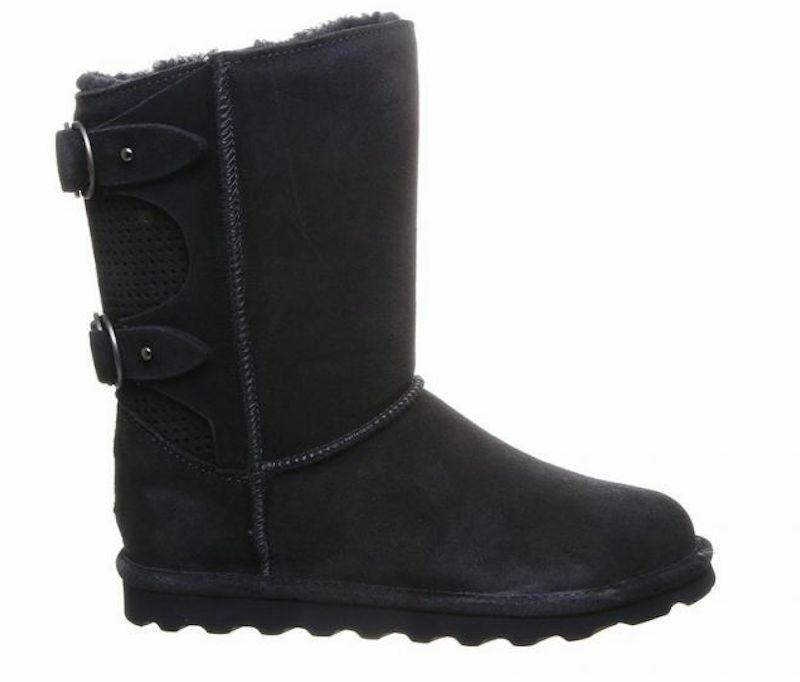 Womens Bearpaw Clara Navy Winter Boots Never Wet Technology [2136W]