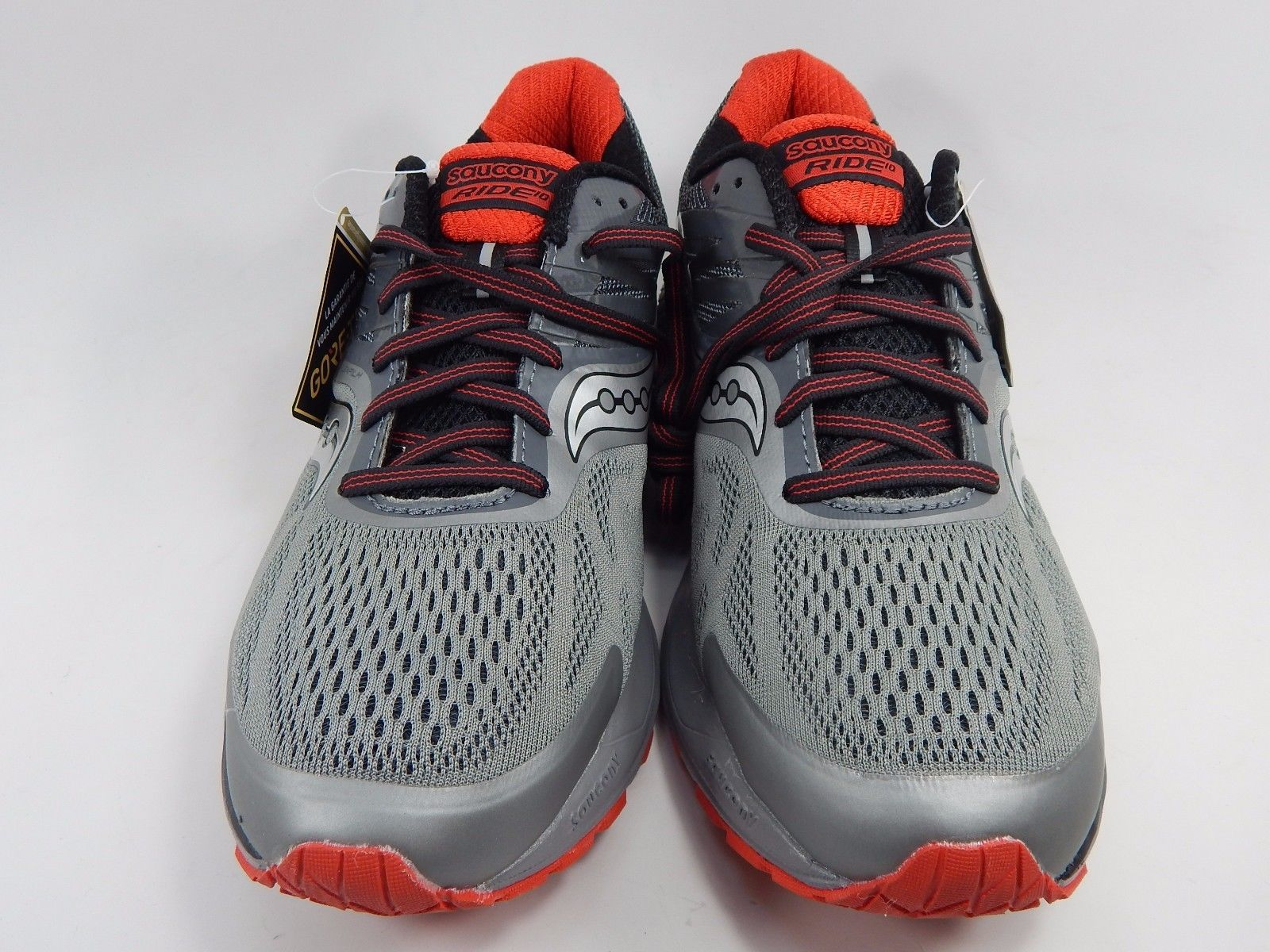 Saucony Ride 10 GTX Gore-Tex Men's Running Shoes Sz US 9 M (D) EU 42.5 S20396-1